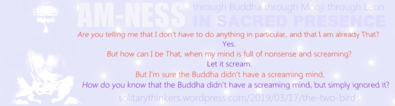 Buddha screaming mind